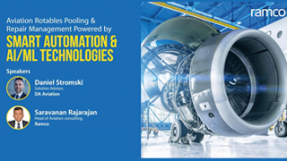 Aviation Rotables Pooling & Repair management powered by smart automation & AI/ML technologies
