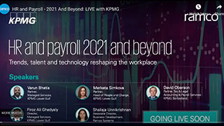 HR and Payroll: 2021 and beyond